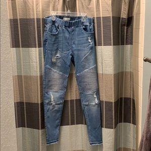 Grace & Lace Distressed Women's Jeans